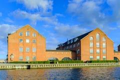 丹麦-西兰地区-哥本哈根- co的全景 图库摄影