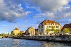丹麦-西兰地区-哥本哈根- co的全景 库存照片