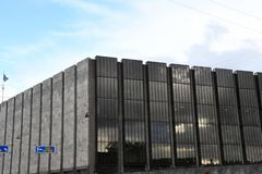 丹麦` S国家银行 库存图片