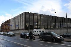 丹麦` S国家银行 免版税库存图片