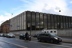 丹麦` S国家银行 免版税库存照片