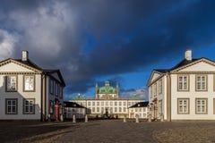 丹麦fredensborg宫殿 库存照片