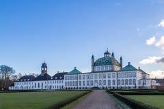 丹麦fredensborg宫殿 免版税库存照片