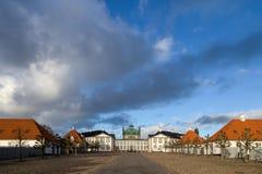丹麦fredensborg宫殿 图库摄影