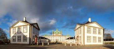 丹麦fredensborg宫殿 免版税库存图片