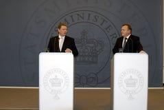 丹麦l部长最初r恶习 免版税库存照片