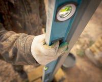 为一个人的工具建造场所的 免版税库存照片