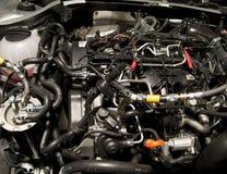 为个人列车车箱引擎奥迪TT服务 免版税库存图片
