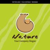 为保存环境、动物园,母性和多签字 向量例证