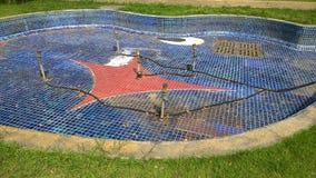为修理排泄的水池 免版税图库摄影