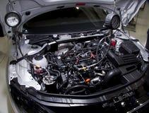 为个人列车车箱引擎Audi TT服务 库存图片