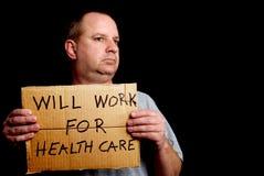 为医疗保健将工作 库存照片