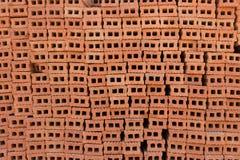为工业砖块使用的堆 库存图片