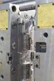 射入铸造的工具 免版税库存照片