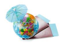 为旅行做准备 一起旅行 免版税库存图片