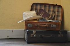 为旅途做准备 免版税库存图片