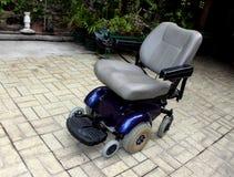 动力化的轮椅 库存图片