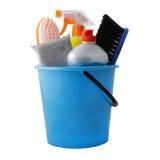 为清洁的工具 免版税库存图片