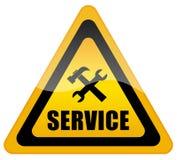 为符号技术支持服务 库存照片