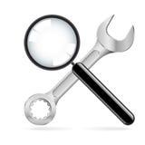 为维修服务的工具 免版税库存照片
