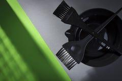 为美发师的美发师工具 免版税图库摄影
