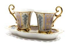 为茶服务 库存图片
