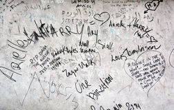 为要记住的街道画1997年8月31日 免版税库存图片