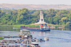 为转动t的各种各样的石油产品的运输闯入 免版税库存图片