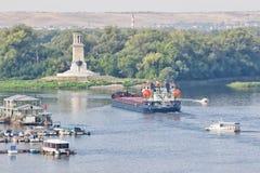 为转动t的各种各样的石油产品的运输闯入 图库摄影