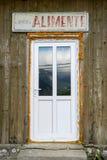 为这个农村罗马尼亚杂货结合的老和新 免版税图库摄影