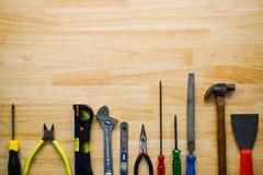 为DIY的硬件工具 免版税图库摄影