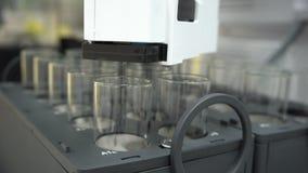 为semipreparative色谱法的科学仪表与许多分光光度表,机器人自动研究