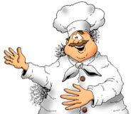 主厨存在 免版税图库摄影