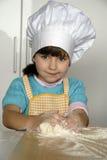 主厨孩子。 库存照片