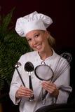 主厨工具 库存图片