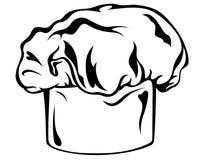 主厨帽子s向量 向量例证