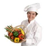 主厨愉快的健康系列 免版税库存照片