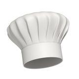 主厨查出的帽子图标 免版税库存照片