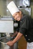 主厨设备搅拌机 图库摄影