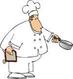 主厨 免版税库存照片