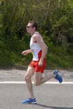 主导的赛跑者 免版税库存照片