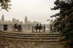 主教公园 免版税库存照片