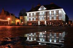 主教宫殿罗马尼亚塞尔维亚人timisoara 免版税库存图片