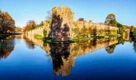 主教宫殿,维尔斯-历史的英国 免版税库存照片