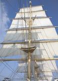 主桅风帆 库存图片