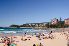 主要海滩 免版税库存图片