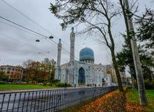 主要清真寺在圣彼得堡,俄罗斯 库存图片