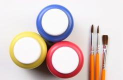 主要艺术性的颜色表达式的孩子 免版税库存照片