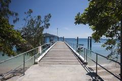 主要跳船, Fitzroy海岛 免版税库存照片
