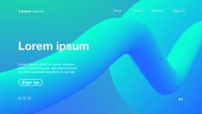 主页的背景抽象青绿的颜色 向量例证